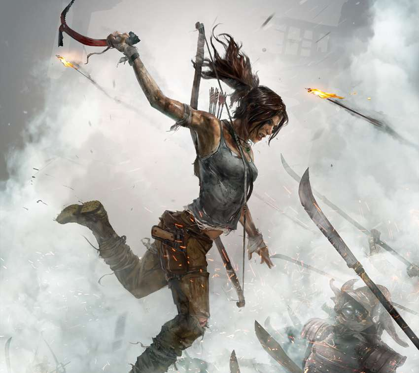 Tomb Raider: Definitive Edition Mobile Horizontal wallpaper or background