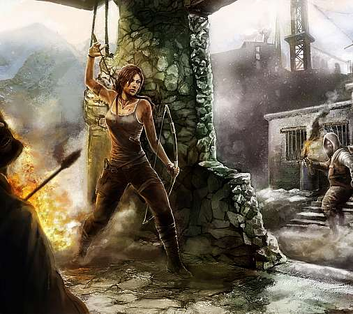 Tomb Raider fan art Mobile Horizontal wallpaper or background