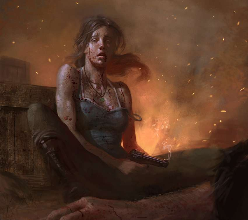 Tomb Rider Wallpaper: Tomb Raider Fan Art Wallpapers Or Desktop Backgrounds