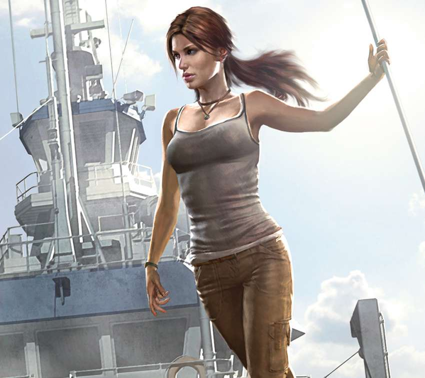 Tomb Raider: The Beginning Mobile Horizontal wallpaper or background