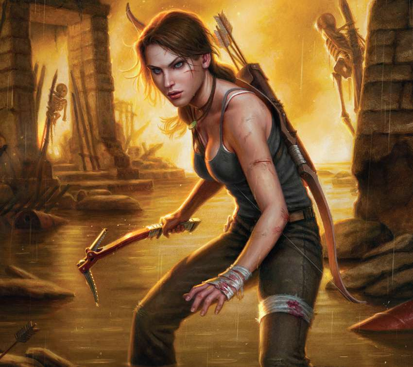 Tomb Raider: The Beginning wallpaper or background