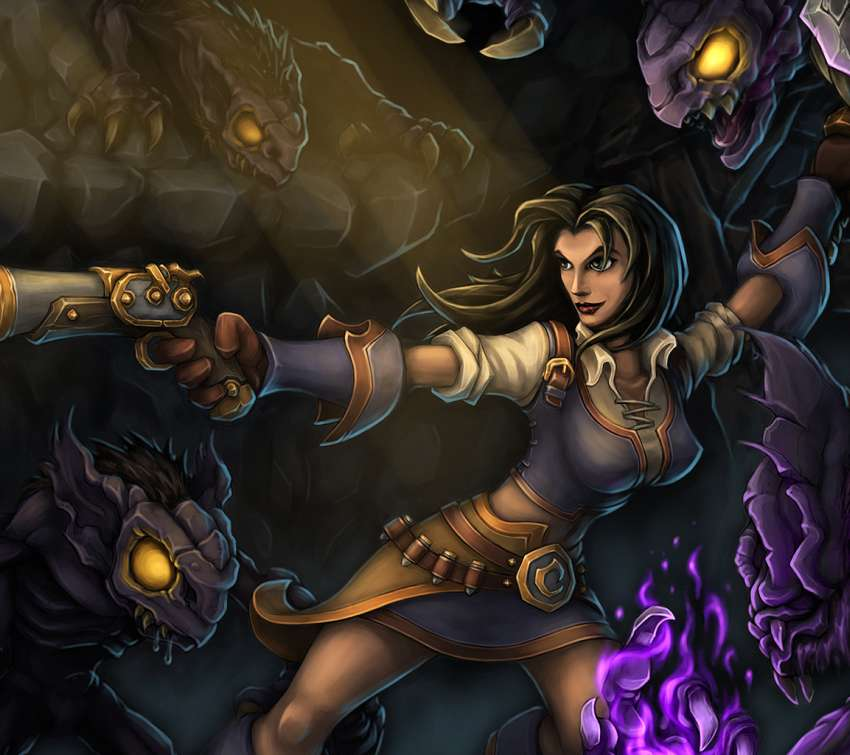 Torchlight wallpaper or background