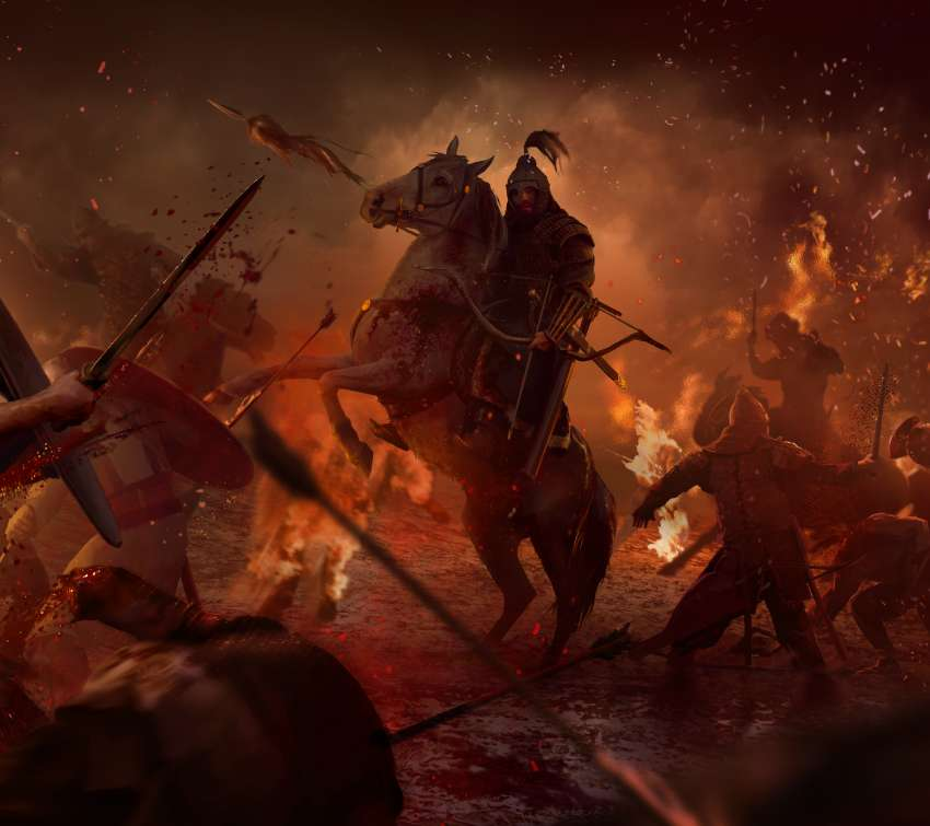 Total War: Attila Mobile Horizontal wallpaper or background