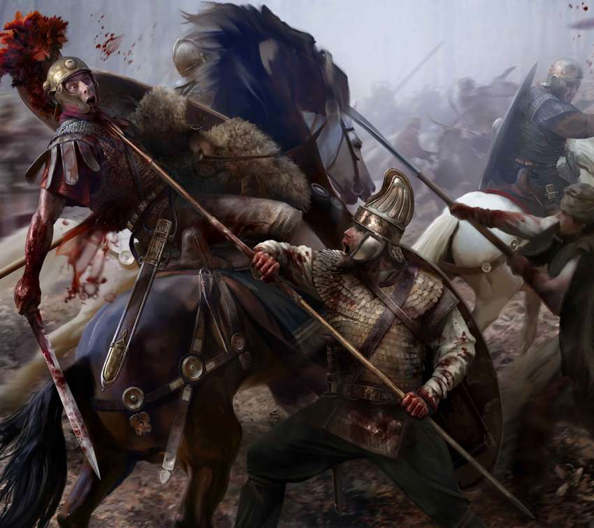 Total War: Rome 2 - Blood & Gore Mobile Horizontal wallpaper or background