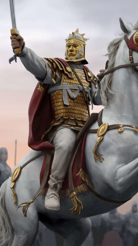 Total War: Rome 2 - Empire Divided Mobile Vertical wallpaper or background