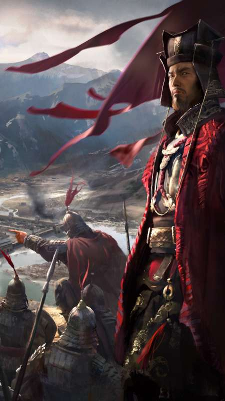 Total War: Three Kingdoms Mobile Vertical wallpaper or background