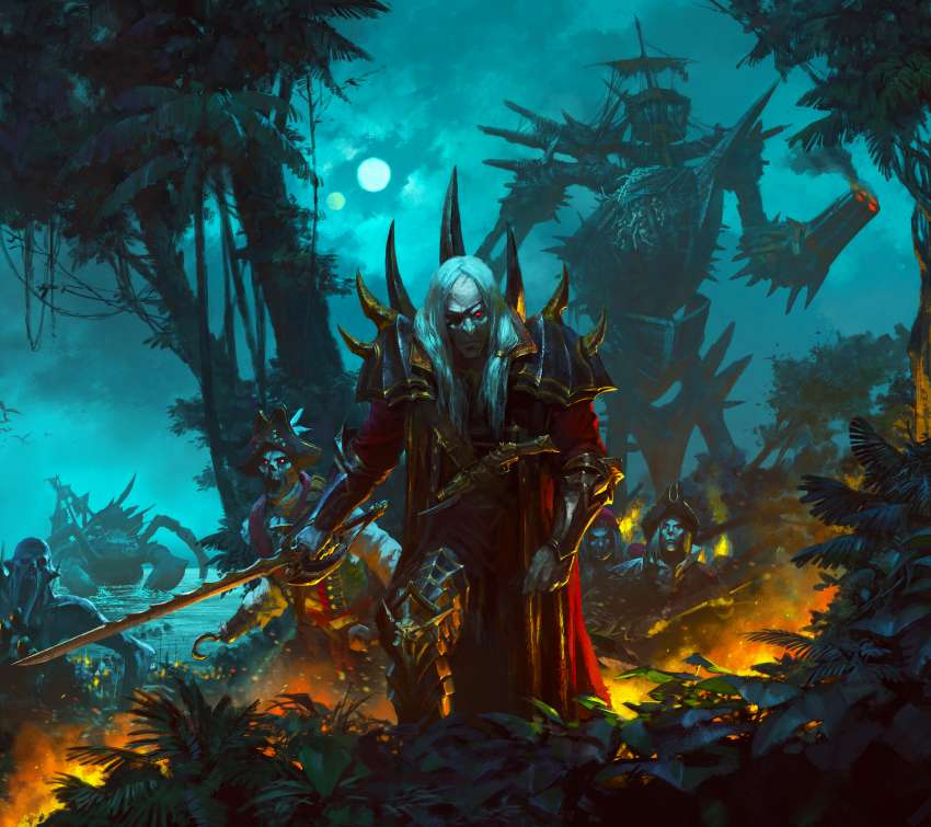 Total War: Warhammer 2 - Curse of the Vampire Coast Mobile Horizontal wallpaper or background