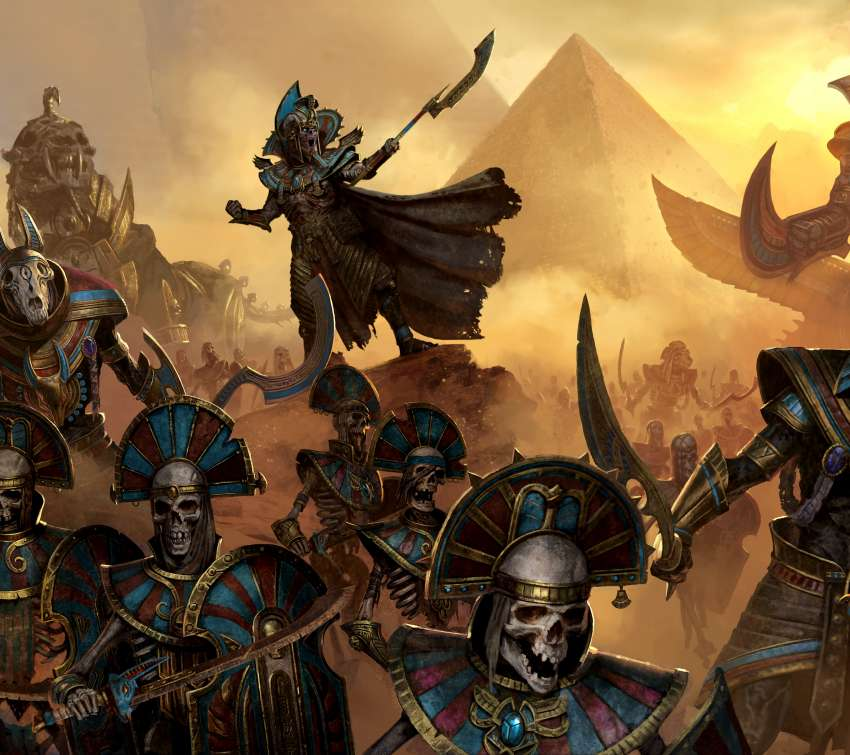Total War: Warhammer 2 - Rise of the Tomb Kings Mobile Horizontal wallpaper or background