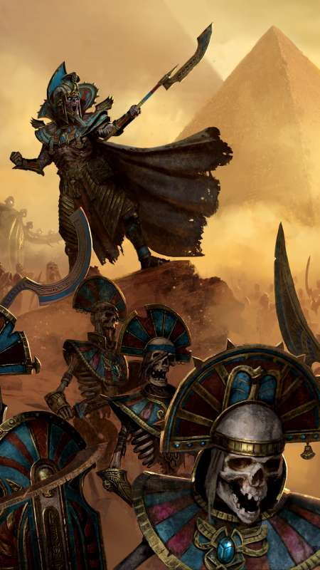Total War: Warhammer 2 - Rise of the Tomb Kings Mobile Vertical wallpaper or background