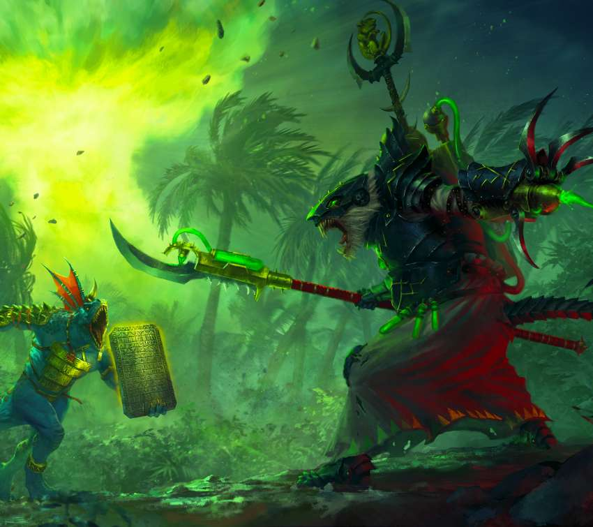 Total War: Warhammer 2 - The Prophet & The Warlock Mobile Horizontal wallpaper or background