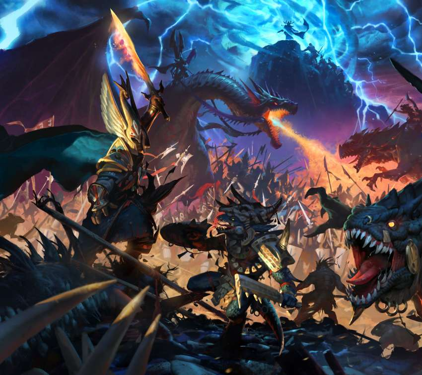 Total War: Warhammer 2 Mobile Horizontal wallpaper or background