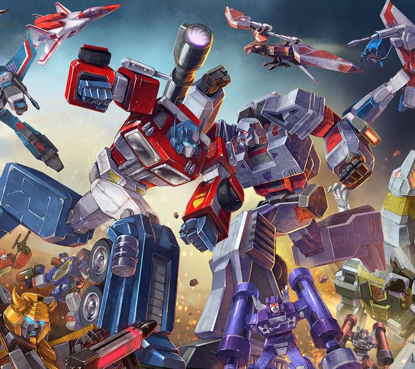 Transformers: Earth Wars Mobile Horizontal wallpaper or background