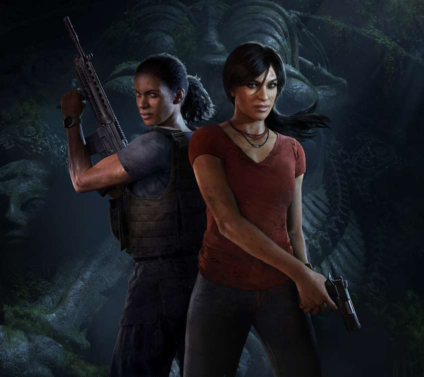 Uncharted: The Lost Legacy Mobile Horizontal wallpaper or background