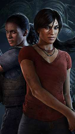 Uncharted: The Lost Legacy Mobile Vertical wallpaper or background