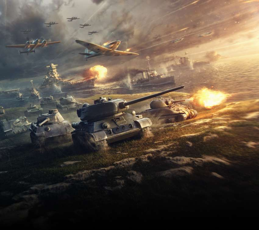 Wargaming Mobile Horizontal wallpaper or background