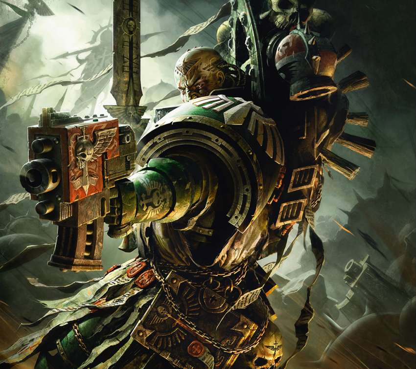 Warhammer 40,000 Mobile Horizontal wallpaper or background
