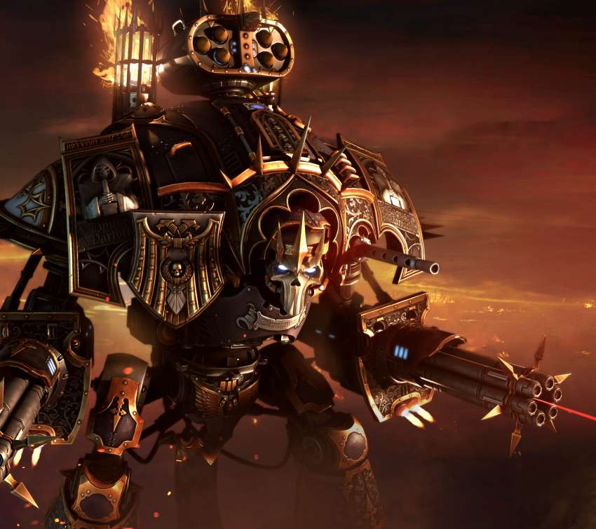 Warhammer 40,000: Dawn of War 3 Mobile Horizontal wallpaper or background