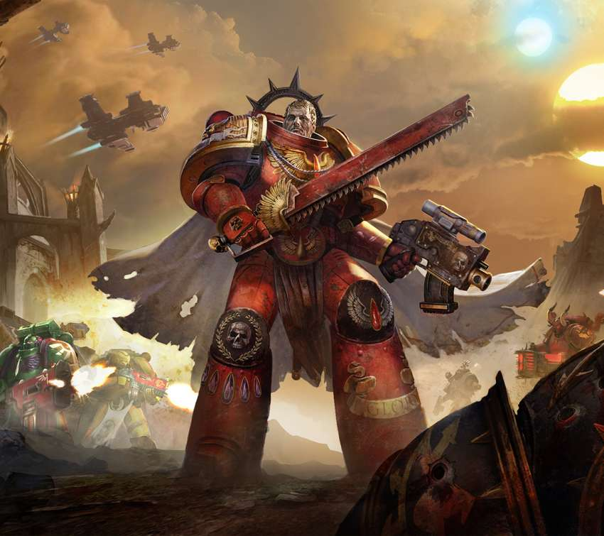 Warhammer 40,000: Eternal Crusade Mobile Horizontal wallpaper or background