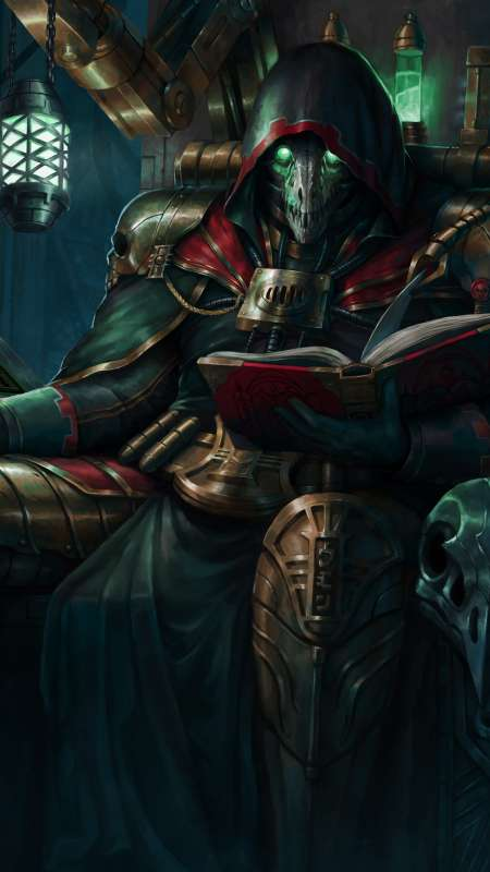 Warhammer 40,000 fan art Mobile Vertical wallpaper or background