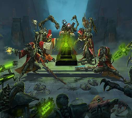 Warhammer 40,000: Mechanicus Mobile Horizontal wallpaper or background