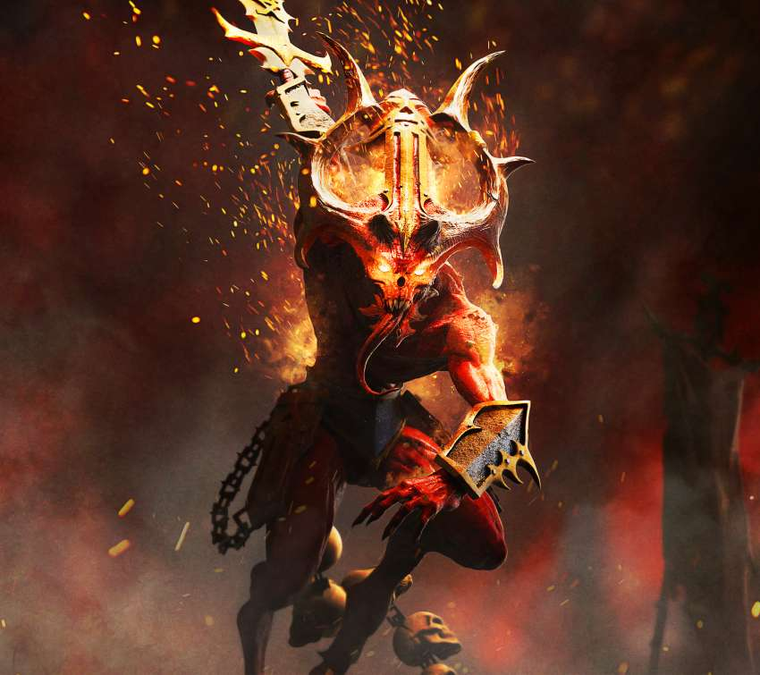 Warhammer: Chaosbane Mobile Horizontal wallpaper or background