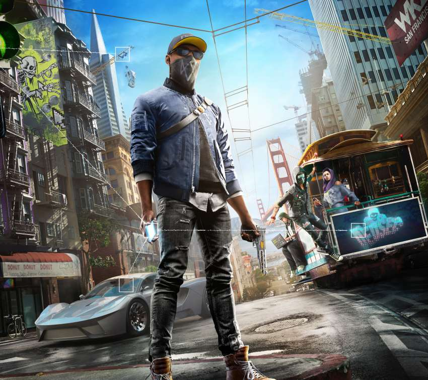 Wallpapers Games: Watch Dogs 2 Wallpapers Or Desktop Backgrounds