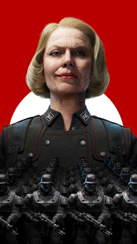 Wolfenstein 2: The New Colossus Mobile Vertical wallpaper or background
