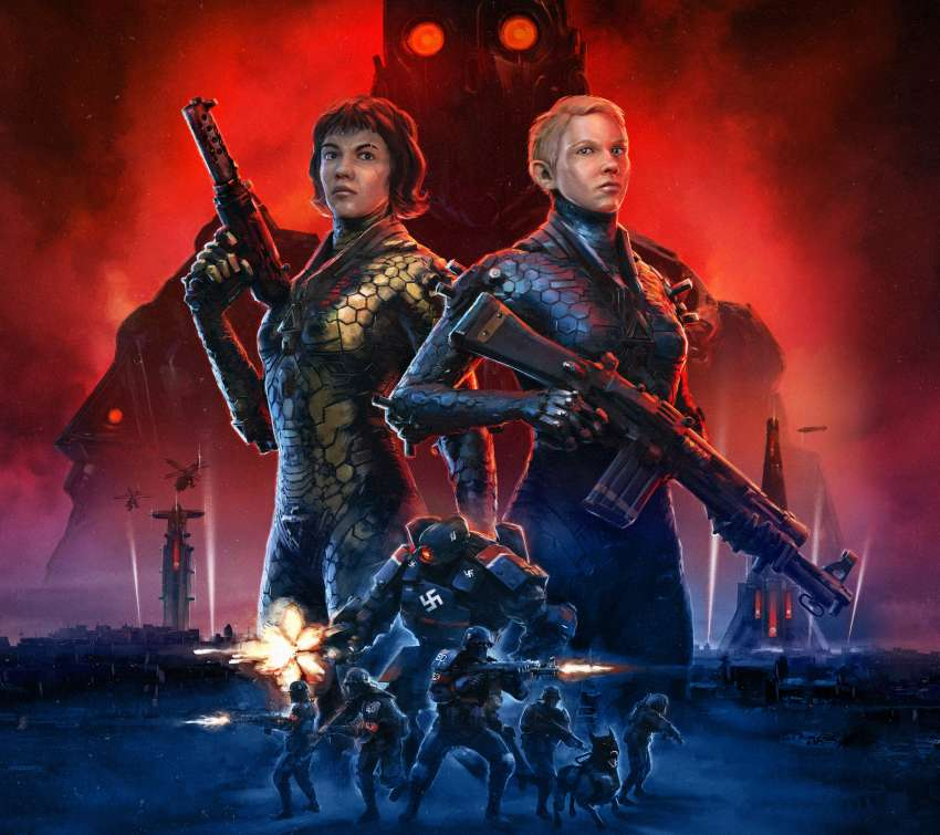 Wolfenstein: Youngblood Mobile Horizontal wallpaper or background