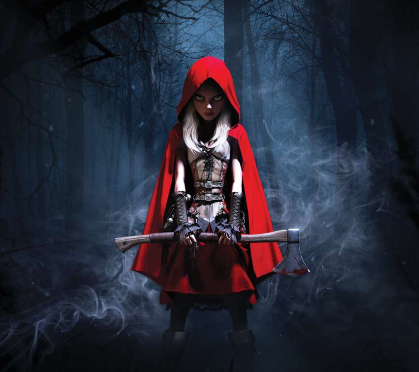 Woolfe: The Redhood Diaries wallpaper or background