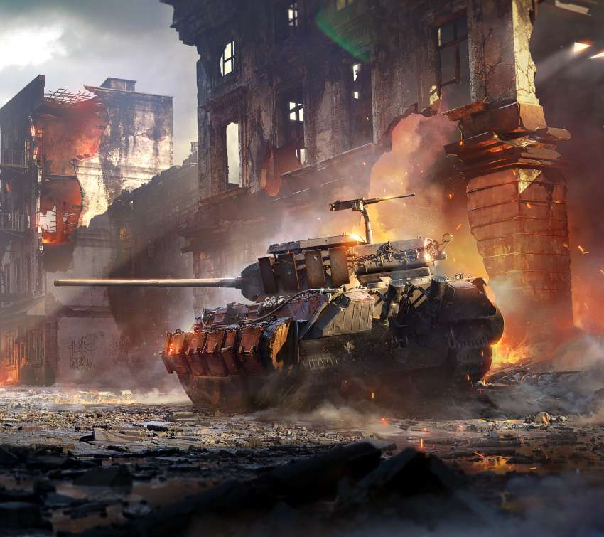 World of Tanks: Mercenaries Mobile Horizontal wallpaper or background