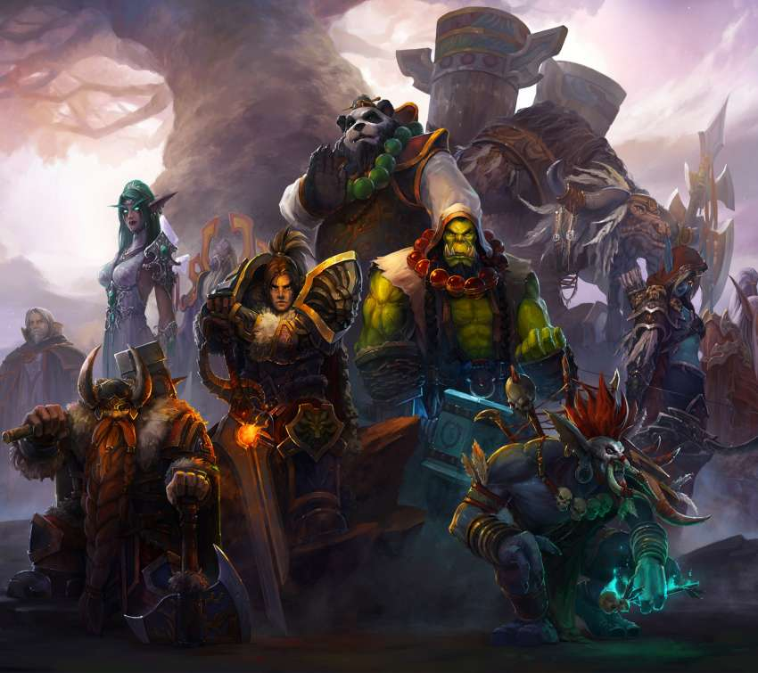 World of Warcraft Mobile Horizontal wallpaper or background