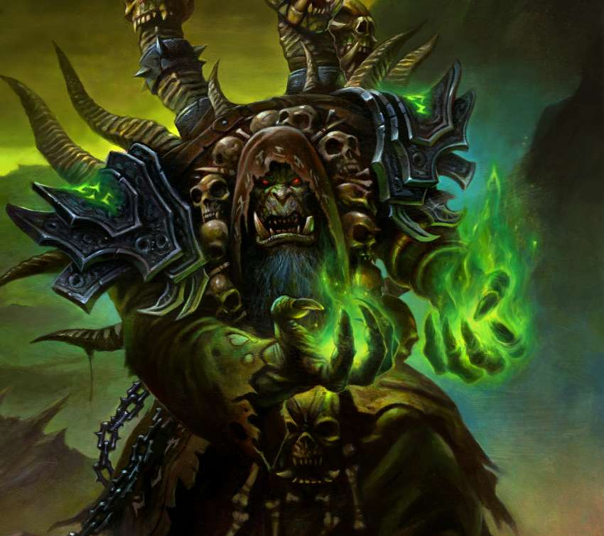 World of Warcraft: Legion Mobile Horizontal wallpaper or background