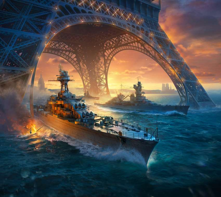 World of Warships Mobile Horizontal wallpaper or background