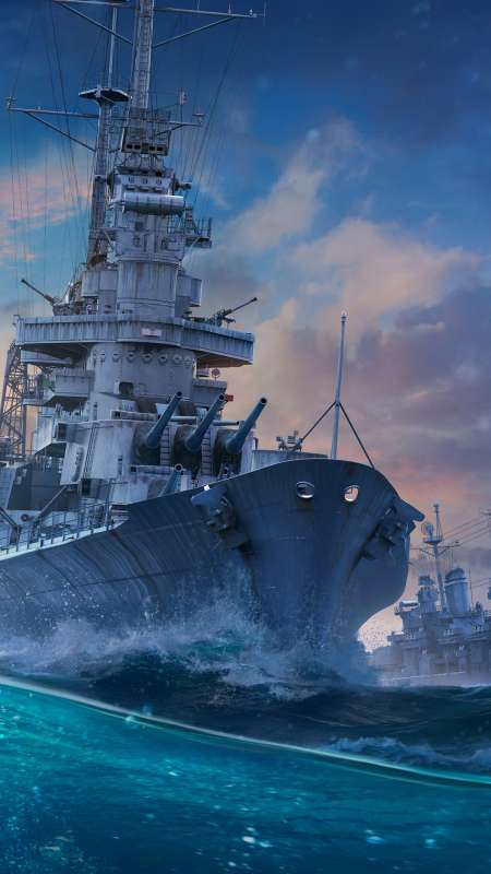 World of Warships Mobile Vertical wallpaper or background