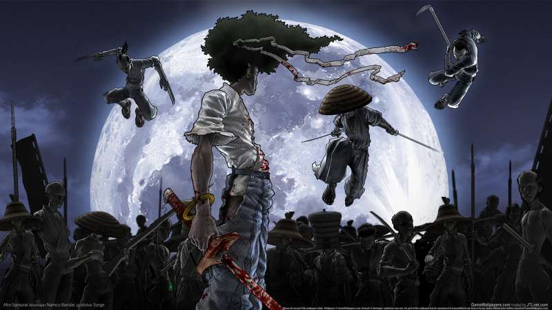 Afro Samurai wallpaper or background 03