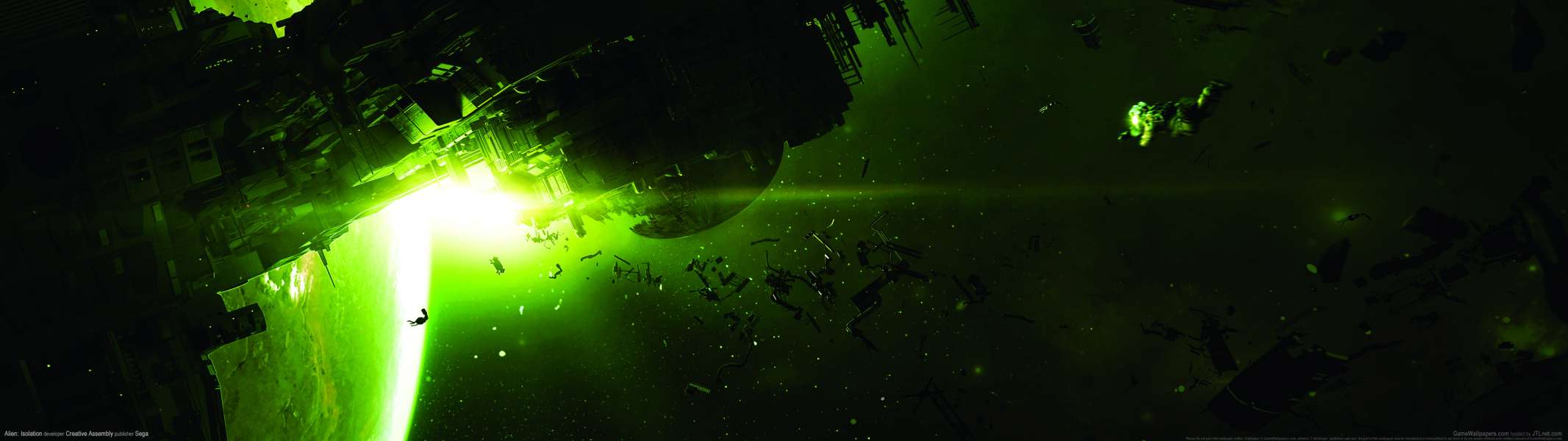 Alien: Isolation dual screen wallpaper or background