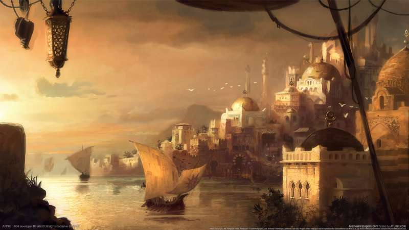ANNO 1404 wallpaper or background 02