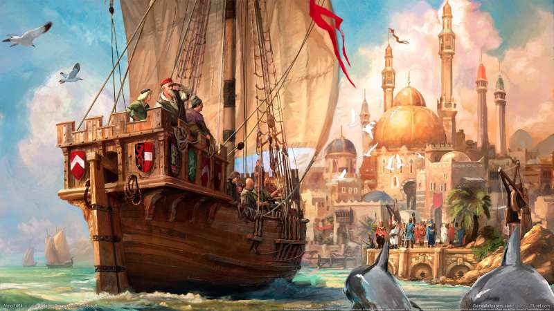 ANNO 1404 wallpaper or background 03