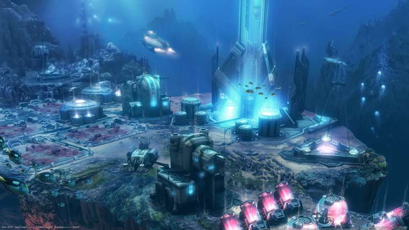 Anno 2070 - Deep Ocean wallpaper or background