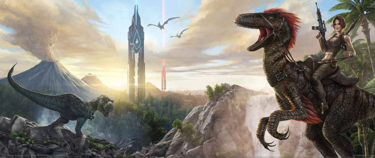 Ark Survival Evolved Backgrounds: ARK: Survival Evolved UltraWide 21:9 Wallpapers Or Desktop