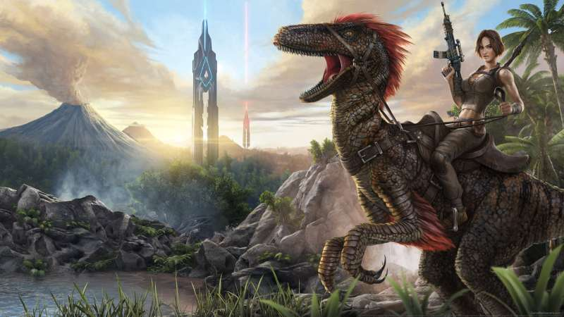 ARK: Survival Evolved wallpaper or background 01