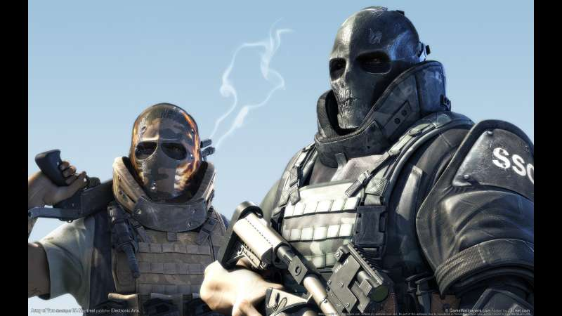 Army of Two wallpaper or background 01