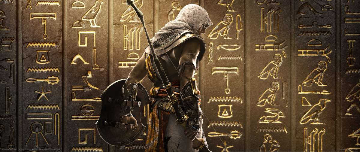 Assassin's Creed: Origins ultrawide wallpaper or background 07