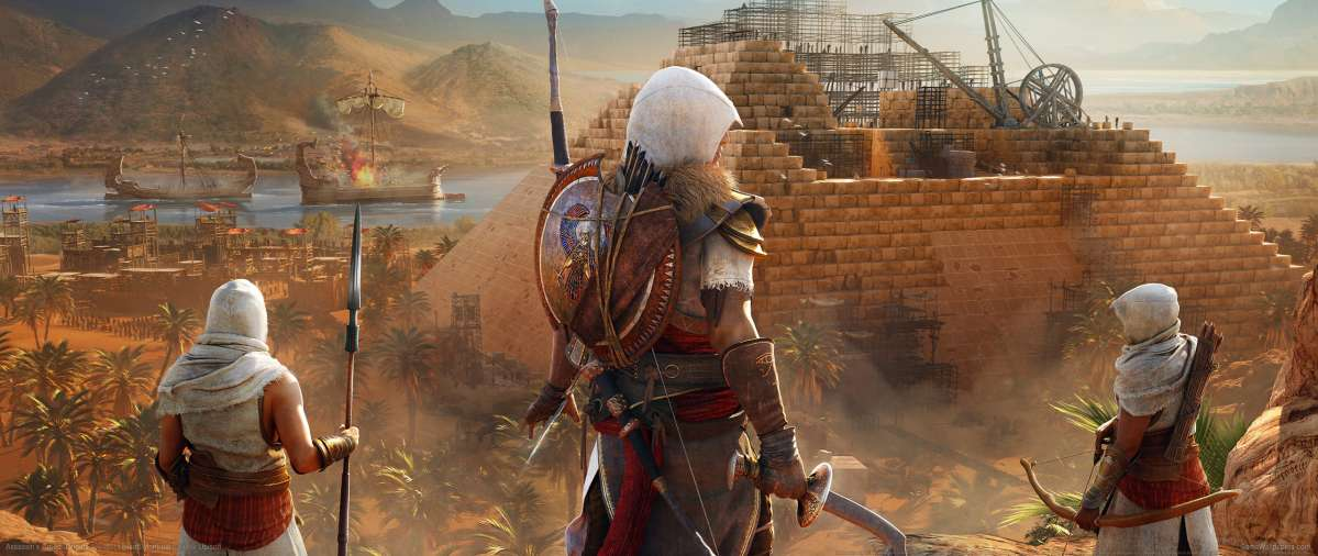 Assassin's Creed: Origins ultrawide wallpaper or background 14
