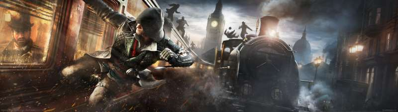 Assassin's Creed: Syndicate dual screen wallpaper or background