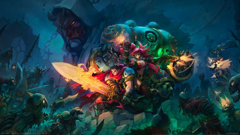 Battle Chasers - Nightwar wallpaper or background 02