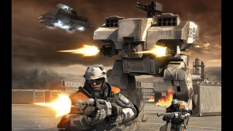 Battlefield 2142 wallpaper or background 03