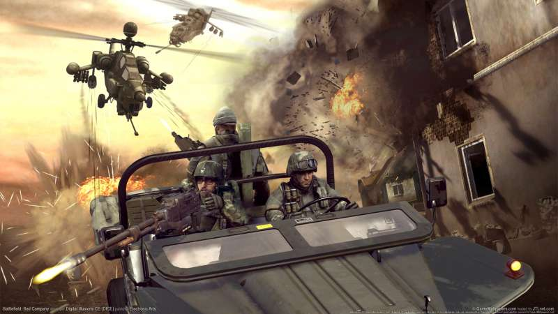 Battlefield: Bad Company wallpaper or background 01