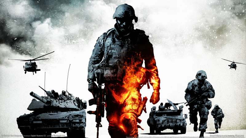 Battlefield: Bad Company 2 wallpaper or background 02