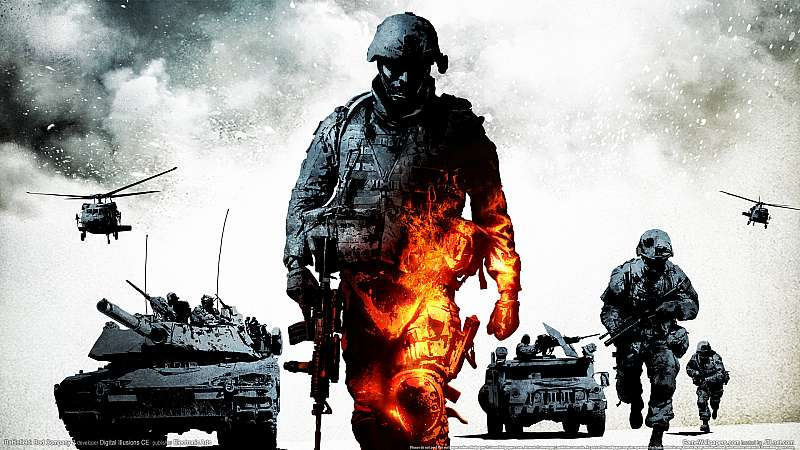 Battlefield: Bad Company 2 wallpaper or background